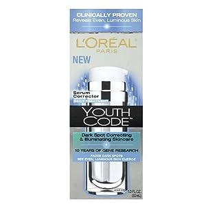 L'OREAL Youth Code Dark Spot Serum Corrector - 1.0 oz