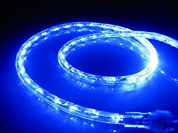 18Ft Rope Lights; Ocean Blue LED Rope Light Kit; 1.0\
