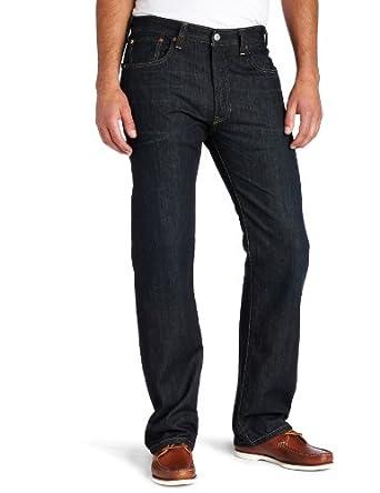 Levi's Men's 501 Original Fit Jean, Clean Fume, 30x32