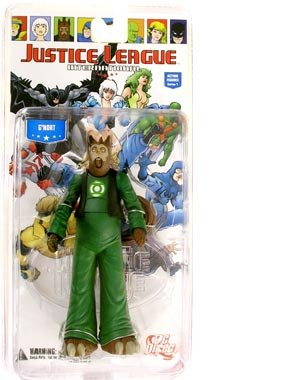 Justice League International Series 1 G'Nort Action Figure