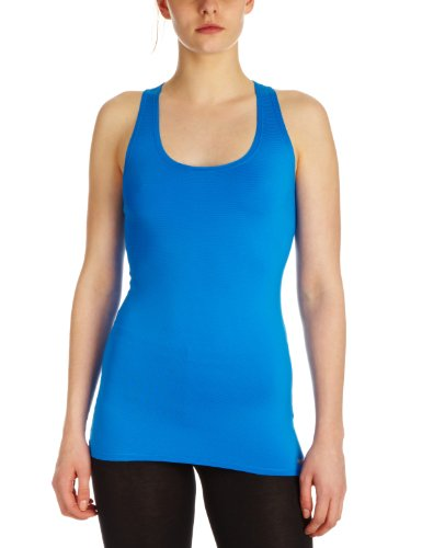 Reebok Women's Tank Top - Blue, Medium