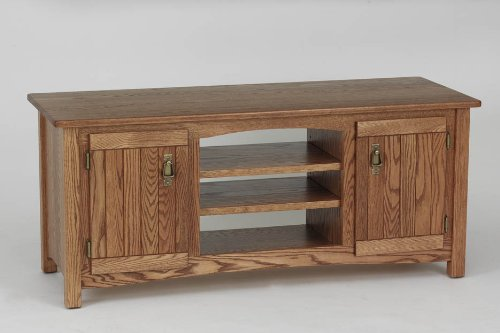 Cheap #977 Solid Wood TV Stand Mission Oak LCD Plasma TV Stand (B003IRC0A0)