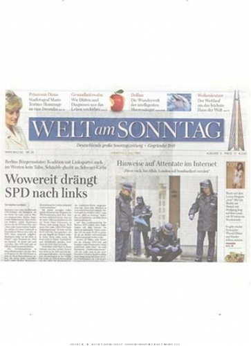 Welt am Sonntag
