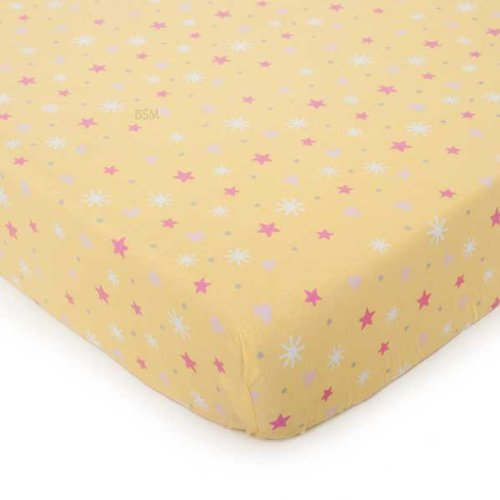 Carter'S Star Fitted Crib Sheet, Fairy Monkey front-620050