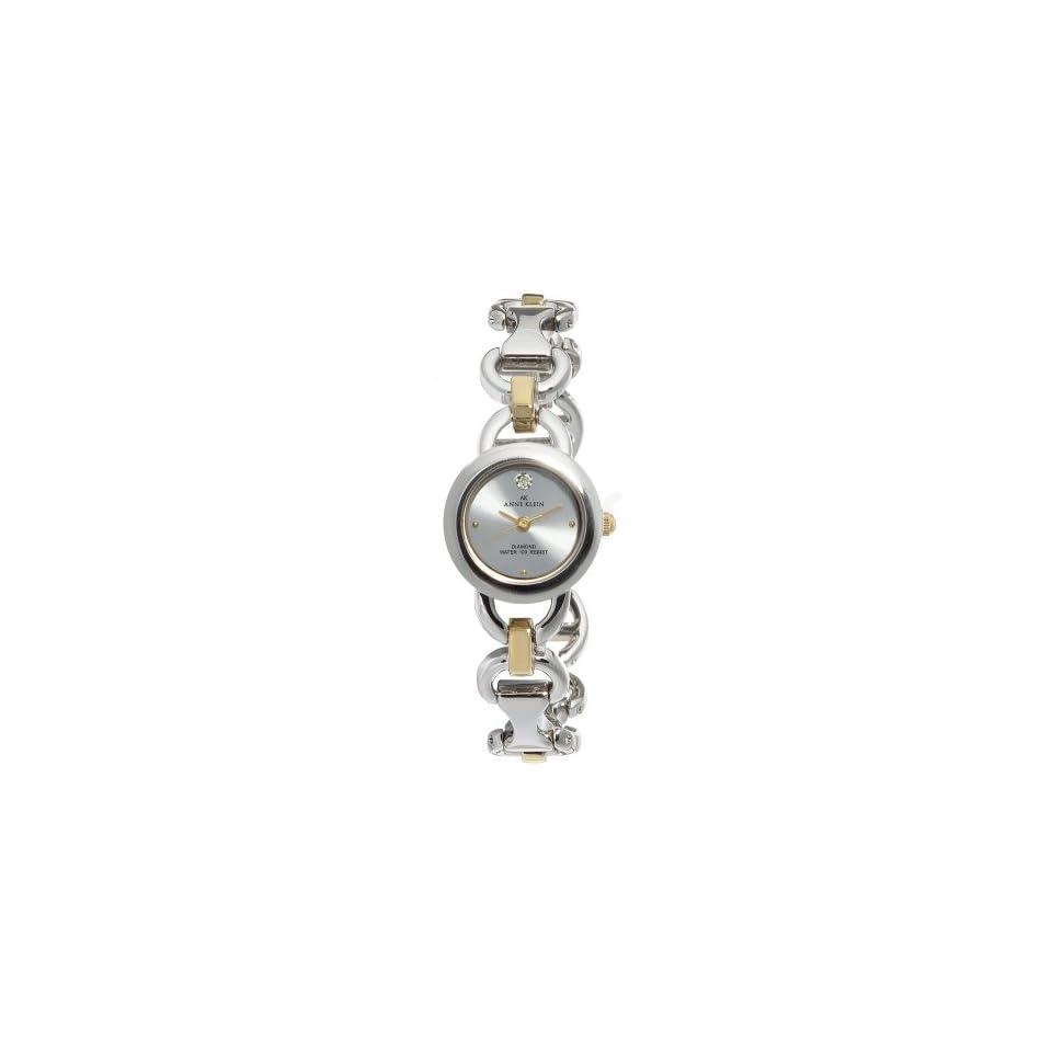 Anne Klein Womens 108699SVTT Two tone Watch