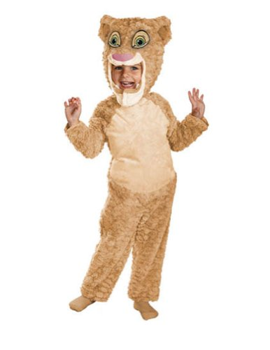 Baby-Toddler-Costume Lion King Nala Deluxe Toddler Costume 3T-4T Halloween