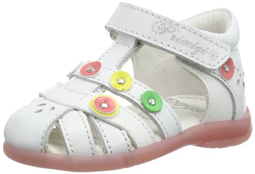 Primigi Girls NANCY T-Brace White Weià (BIANCO) Size: 8 (25 EU)