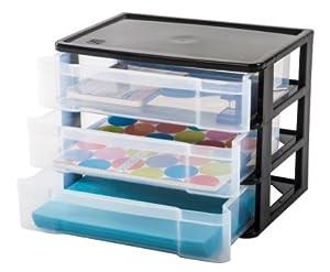 3-Drawer Desktop Organizer
