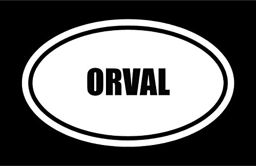 6-die-cut-white-vinyl-orval-name-oval-euro-style-vinyl-decal-sticker