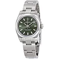 Rolex Lady Oyster Perpetual 26 Olive Green Dial Stainless Steel Oyster Automatic Watch
