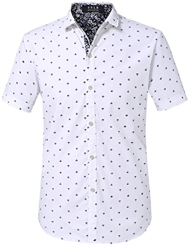 sslr-mens-straight-fit-printing-short-sleeve-shirts-large-white-hh067
