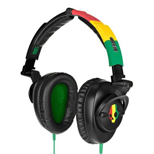 Skullcandy Skullcrusher Headphones S6SKCZ-058 -Rasta
