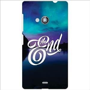 Nokia Lumia 535 Back Cover - The End Designer Cases