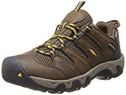 KEEN Men\'s Koven WP Hiking Shoe,Cascade Brown/Tawny Olive,10.5 M US