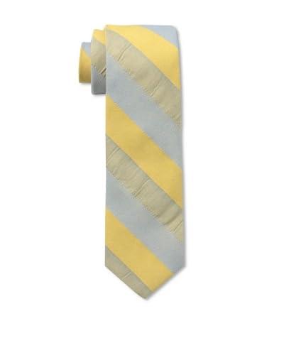 Gitman Men's Multi Stripe Tie, Yellow