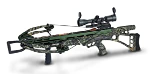 Carbon Express 185 Pounds Covert SLS Crossbow Package, Small, Mossy Oak by Carbon Express