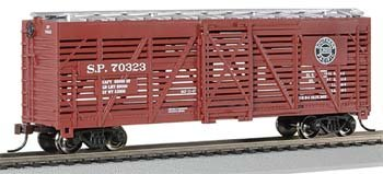 Bachmann Trains Southern Pacific 40' Stock Car-Ho Scale