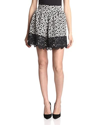 Anna Sui Women's Daisy Field Lace Skirt