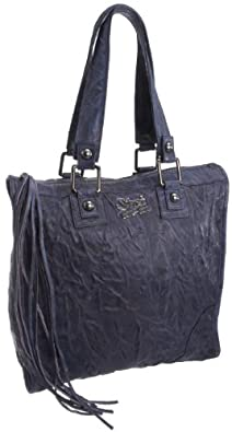 Secret Pon Pon Mechant Funny Maxi Bowling Bag Ink, Sacs à main femme - Encre, Large