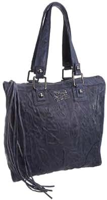 Secret Pon Pon Mechant Funny Maxi Bowling Bag Ink, Sacs à main femme - Encre, Large