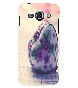 ColourCraft Creative Heart Design Back Case Cover for SAMSUNG GALAXY ACE 3 3G S7270