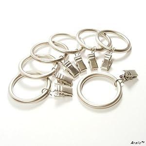 Amazon.com - Anello Premium Drapery Clip Rings - Extra Thick - Set of