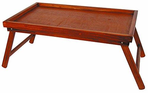 Holz-Betttablett-mit-klappbaren-Beinen-Serviertablett-aus-Pinienholz