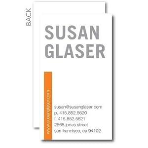Amazon Business Cards Striking Impression Business