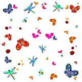 RoomMates RMK1021SCS Jelly Bugs Peel and Stick Wall Decals