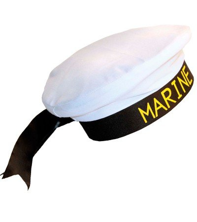 Hut-Matrose-Seemann-Sailor-Marinaio-Marinemtze-Marine-Zubehr-ohne-Uniform