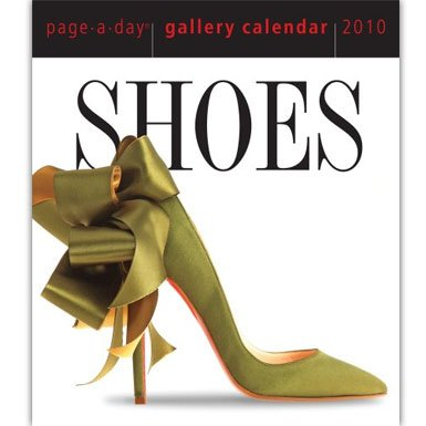 Page-a-day Shoes Calendar 2010 *Seasonal Offer*