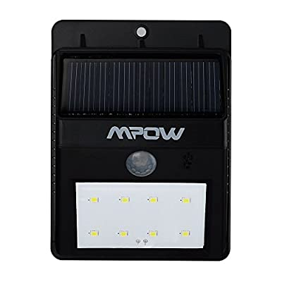 Mpow Super Bright Solar-Powered Spotlight