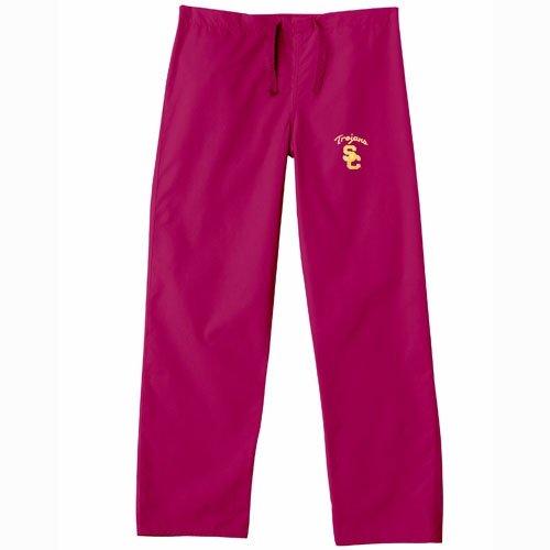 USC Trojans Crimson Scrub Pants