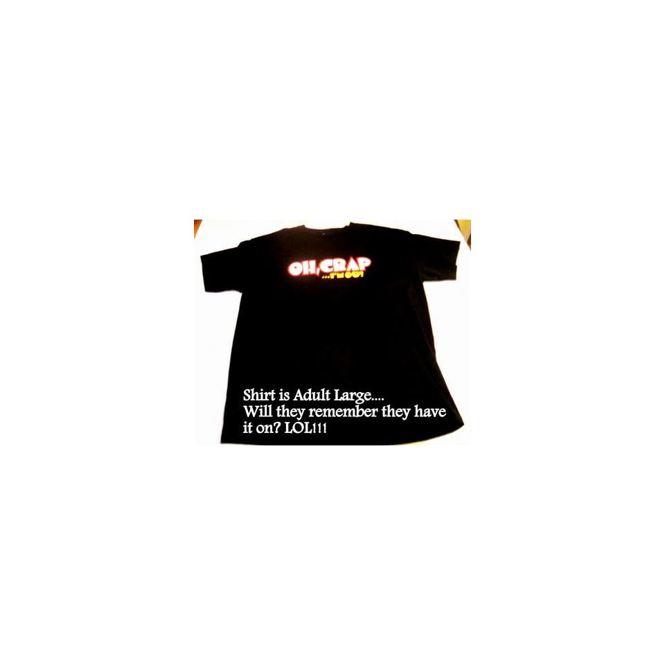 434d9aa3 Oh Crap Im 60 Sixty Six Oh Over the Hill Birthday Shirt Sixth Decade ...