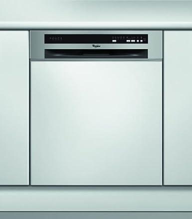Whirlpool ADG5820IXA+ lave-vaisselle - laves-vaisselles (Semi intégré, A, A+, Acier inoxydable, Blanc, A, Économie, Intensif, Rapide)