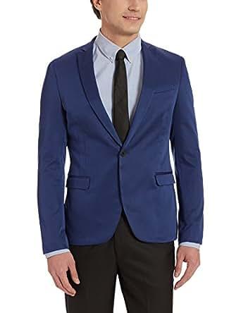 Blackberrys Menu0026#39;s Slim Fit Blazer (8907196245678_BT-INNELLAN_36_Blue) Amazon.in Clothing ...