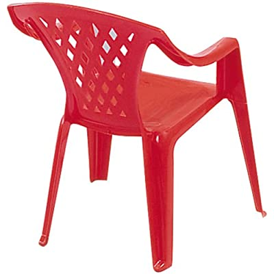 Ariel Childs Resin Chair Assorted Colours