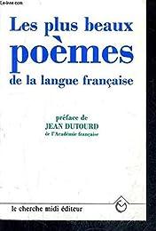 Les  plus poèmes de la langue française