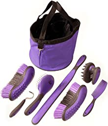 Tough 1 Great Grip Grooming Package (8-Piece), Pink