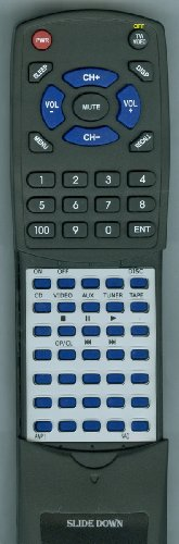 NAD Replacement Remote Control for C316BEE, AMP1, C315BEE