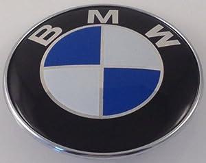 bmw trunk emblem roundell e46 e90 e91 e87 badge 73mm. Black Bedroom Furniture Sets. Home Design Ideas