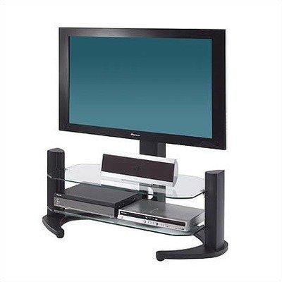 Cheap Alphason Aragon Series Modern Glass TV Stand for 24-43 inch Screens (Black) AG94 2-B (AG94/2B)