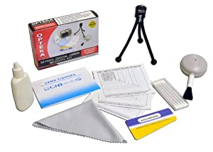 Opteka Digital Camera / Camcorder Lens Cleaning Kit, Tabletop Tripod, & LCD Screen Protectors