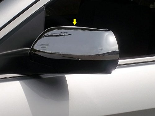 Chrome Mirror Cover Overlays Fits 2002-2007 Saturn Vue