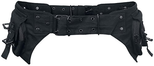 Gothicana by EMP Rock On Belt Bag Marsupio nero 115 cm