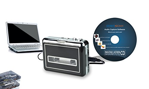 WeRecord USB Cassette Player - Turn your old cassette tapes