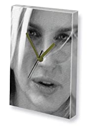 DARYL HANNAH - Canvas Clock (LARGE A3 - Signed by the Artist) #js001