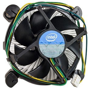 Intel Socket 1155/1156 Aluminum Heat Sink and 3.5-Inch Fan with 4-Pin Connector up to Core i3 3.06GHz (E97379-001) (12 Volt Heat Fan compare prices)
