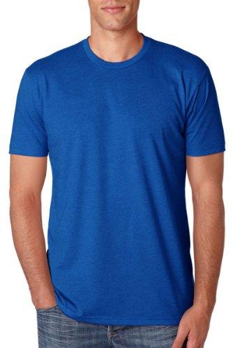 Next Level Men'S Cvc Jersey T-Shirt, Royal, Large (Pack3) front-1018584
