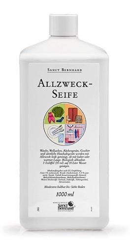 Sanct Bernhard Allzweck-Seife mit Farnesol, ph-neutral 1 Liter